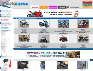 motoinzerce.cz screenshot