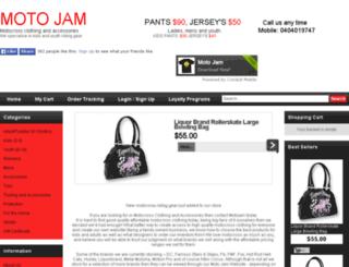 motojam.com.au screenshot