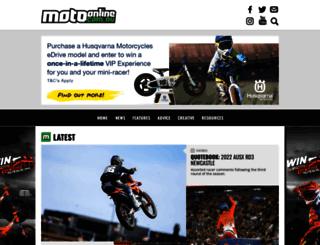 motoonline.com.au screenshot