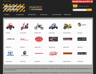 motopartscenter.com screenshot