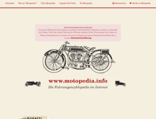 motopedia.info screenshot