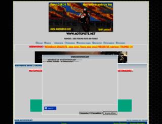 motopiste.net screenshot
