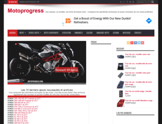 motoprogress.com screenshot