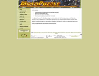 motopuzzle.cz screenshot