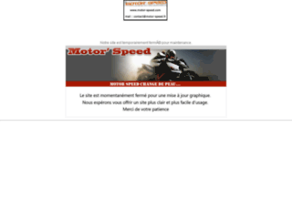 motor-speed.fr screenshot