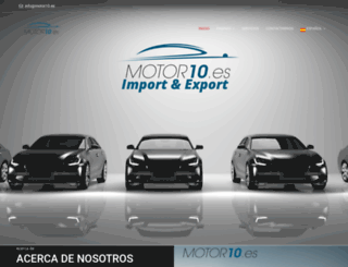 motor10.es screenshot