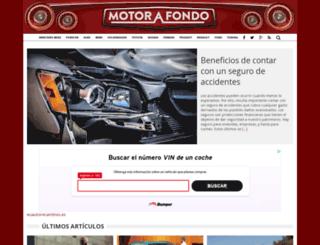 motorafondo.net screenshot