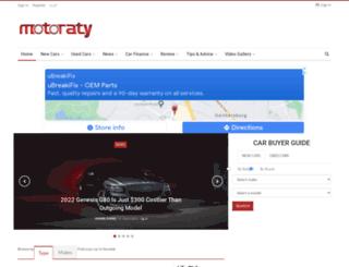 motoraty.com screenshot