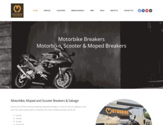 motorbike-breakers.com screenshot