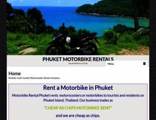 motorbikerentalphuket.com screenshot