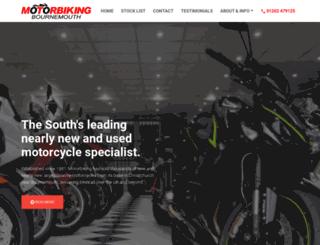 motorbiking.co.uk screenshot