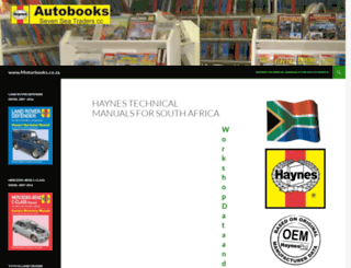motorbooks.co.za screenshot