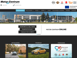 motorcentrum.pl screenshot