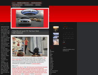 motorcitymusclecars.wordpress.com screenshot