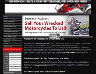 motorcycle-used-parts.com screenshot