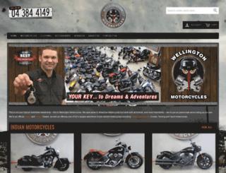 motorcycle.co.nz screenshot