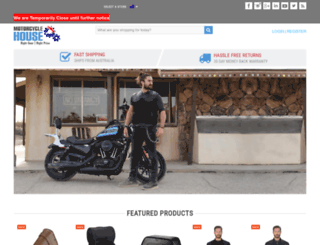 motorcyclehouse.com.au screenshot