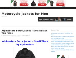 motorcyclejacketsformen.itemshoping.com screenshot