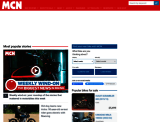 motorcyclenews.com screenshot