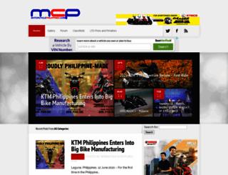 motorcyclephilippines.com screenshot