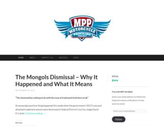 motorcycleprofilingproject.wordpress.com screenshot