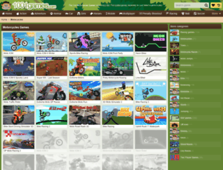 motorcycles.gamesxl.com screenshot