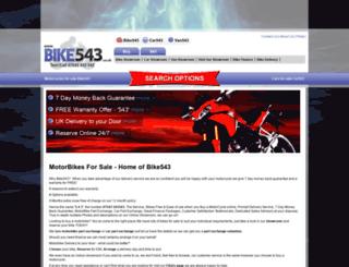 motorcyclesforsaleuk.co.uk screenshot
