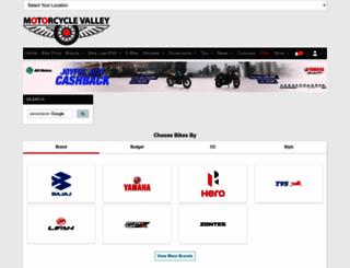 motorcyclevalley.com screenshot