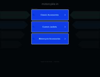 motorcykle.in screenshot