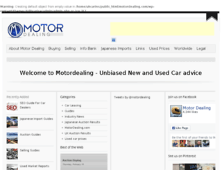 motordealing.com screenshot