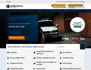 motordefencelawyers.co.uk screenshot
