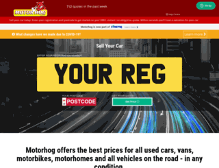 motorhog.co.uk screenshot