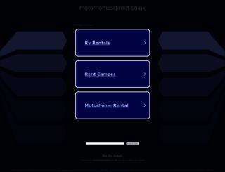 motorhomesdirect.co.uk screenshot