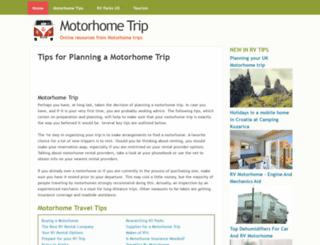 motorhometrip.com screenshot