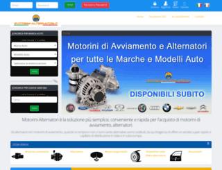 motorini-alternatori.it screenshot