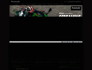 motorkawasaki.com screenshot
