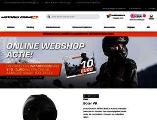motorkleding.nl screenshot