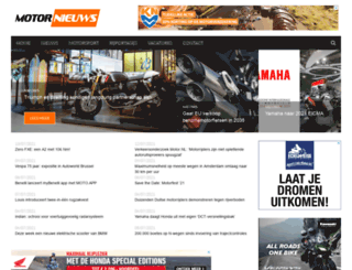 motornieuws.nl screenshot