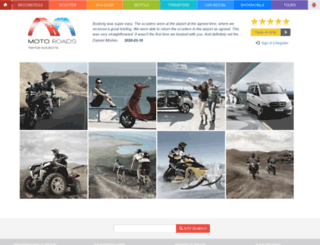 motoroads.com screenshot