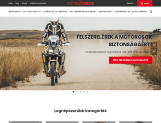 motoroazis.hu screenshot