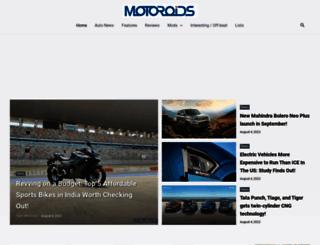 motoroids.com screenshot