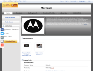 motorola.aliplatinumscript.com screenshot