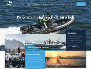 motorove-cluny.cz screenshot