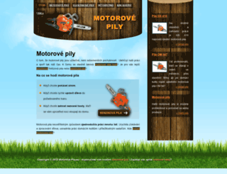 motorove-pily.eu screenshot