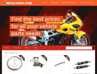 motorpartsstore.com screenshot