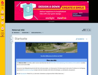 motorrad-wiki.de screenshot
