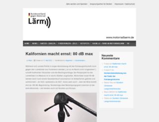 motorradlaerm.de screenshot