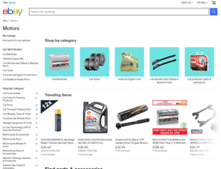 motors.ebay.co.uk screenshot