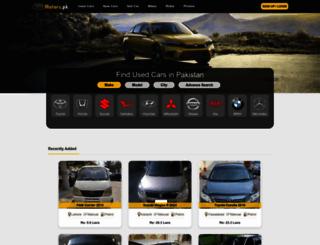 motors.pk screenshot