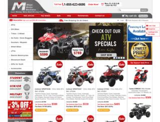 motorscootershops.com screenshot